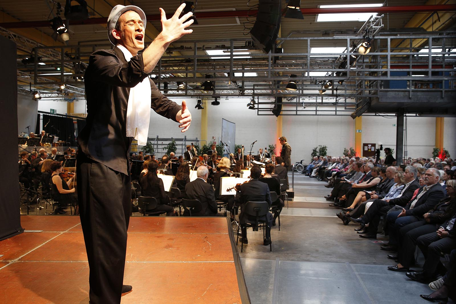 18. Werkstattkonzert der Bochumer Symphoniker bei der Bogestra am Standort Bochum Riemke, Herner Str. 299. Bochum, 13. September 2015